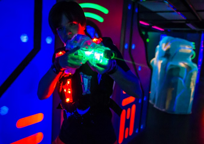 How To Make A Laser Tag Arena At Home